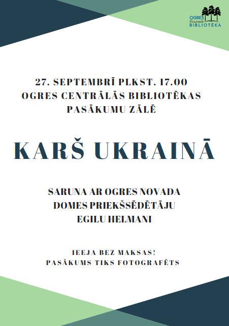 Ukraina Plakats 27092018