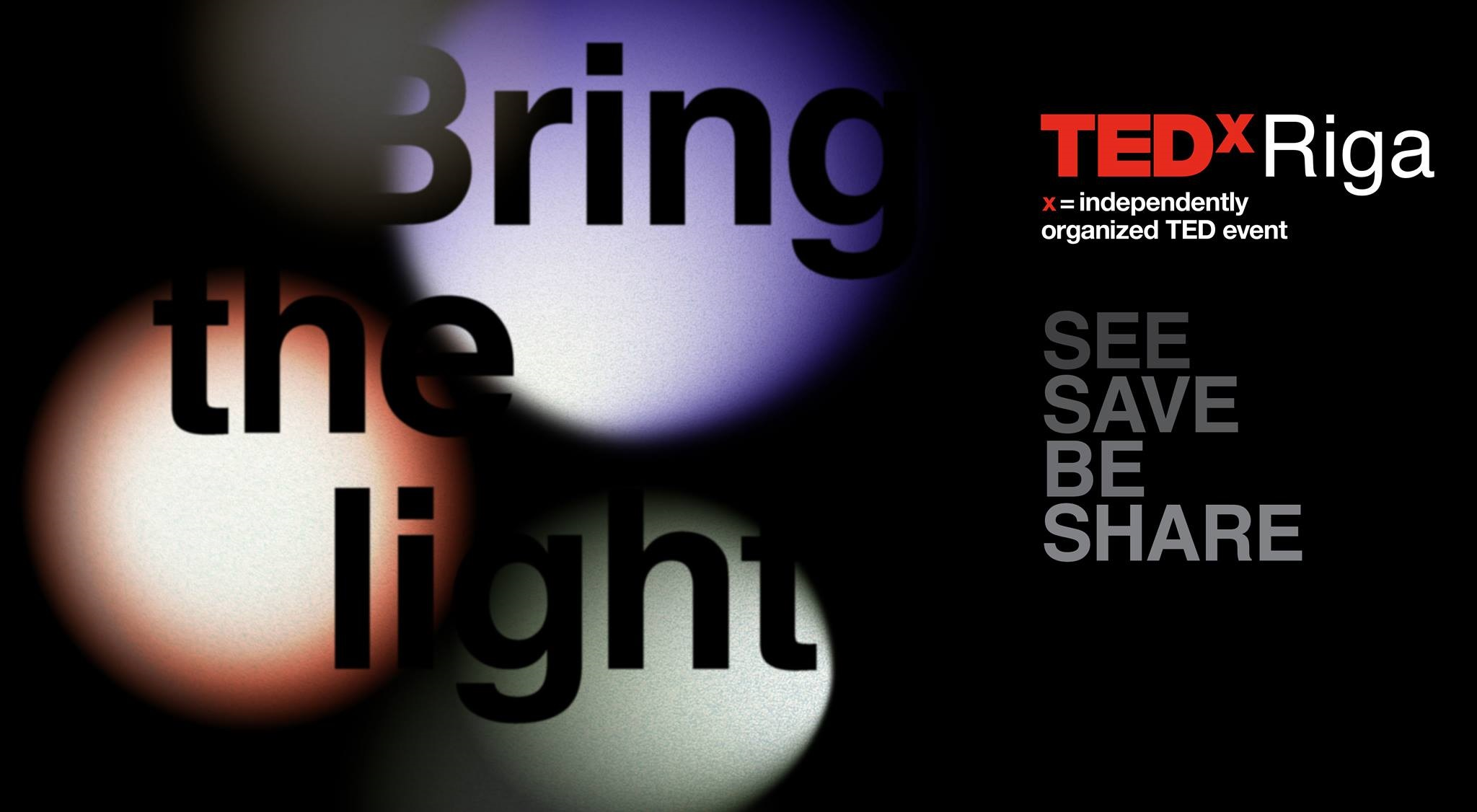 TEDxRiga Event Cover