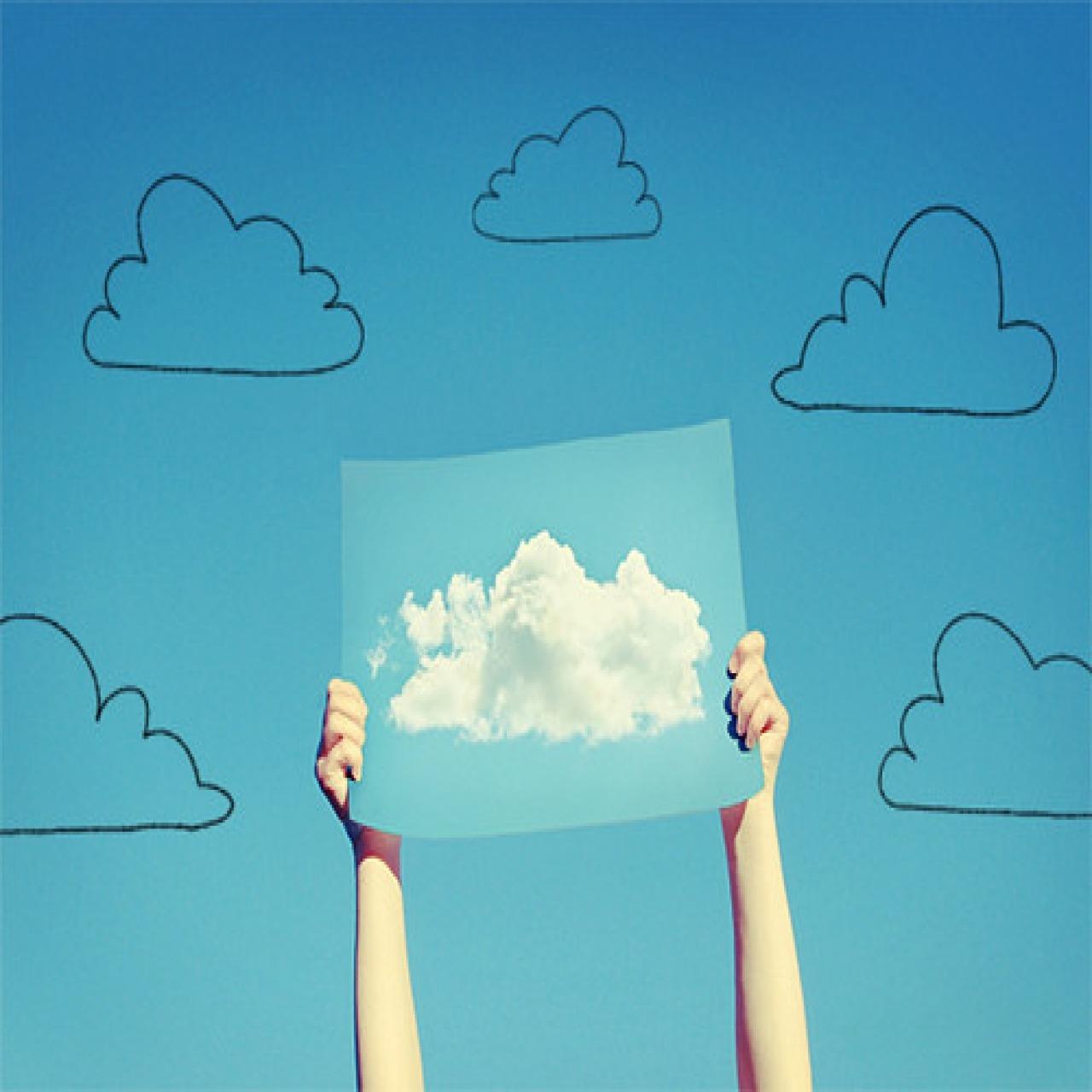 Cute Human Clouds