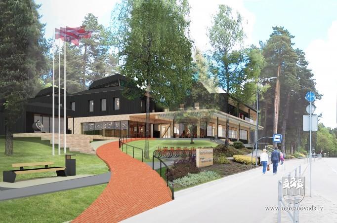 Sāksies Vecās Ogres Bibliotēkas ēkas Demontāža