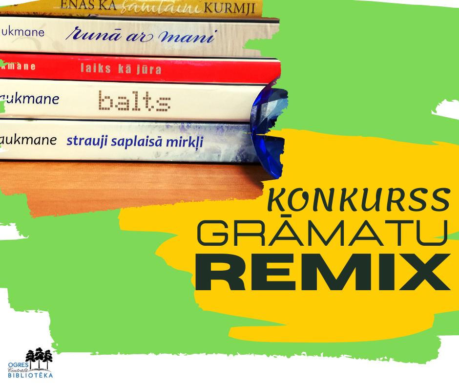 """Konkursa """"Grāmatu REMIX"""" Uzvarētājs Noskaidrots!"""
