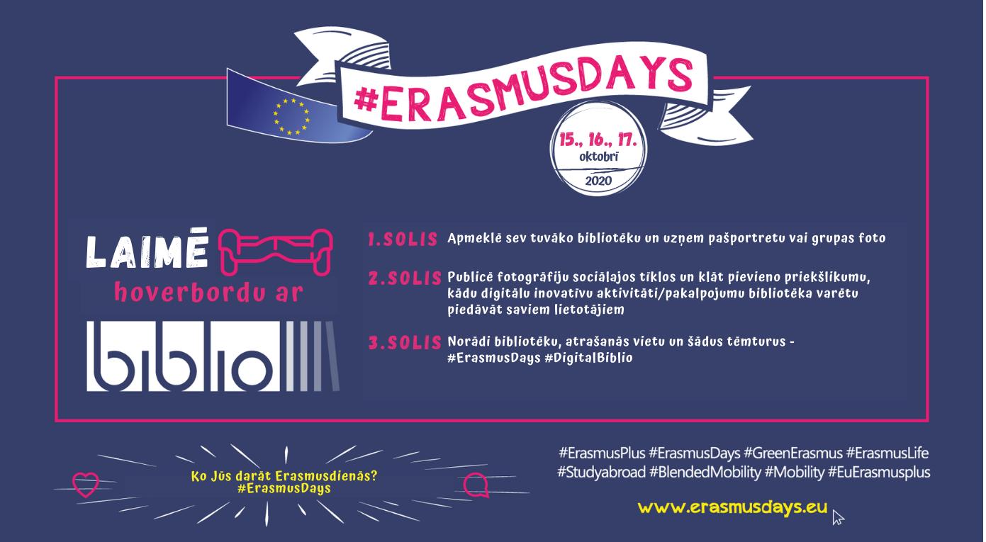 Aicinām Piedalīties #ErasmusDienās Un Laimēt Hoverbordu!