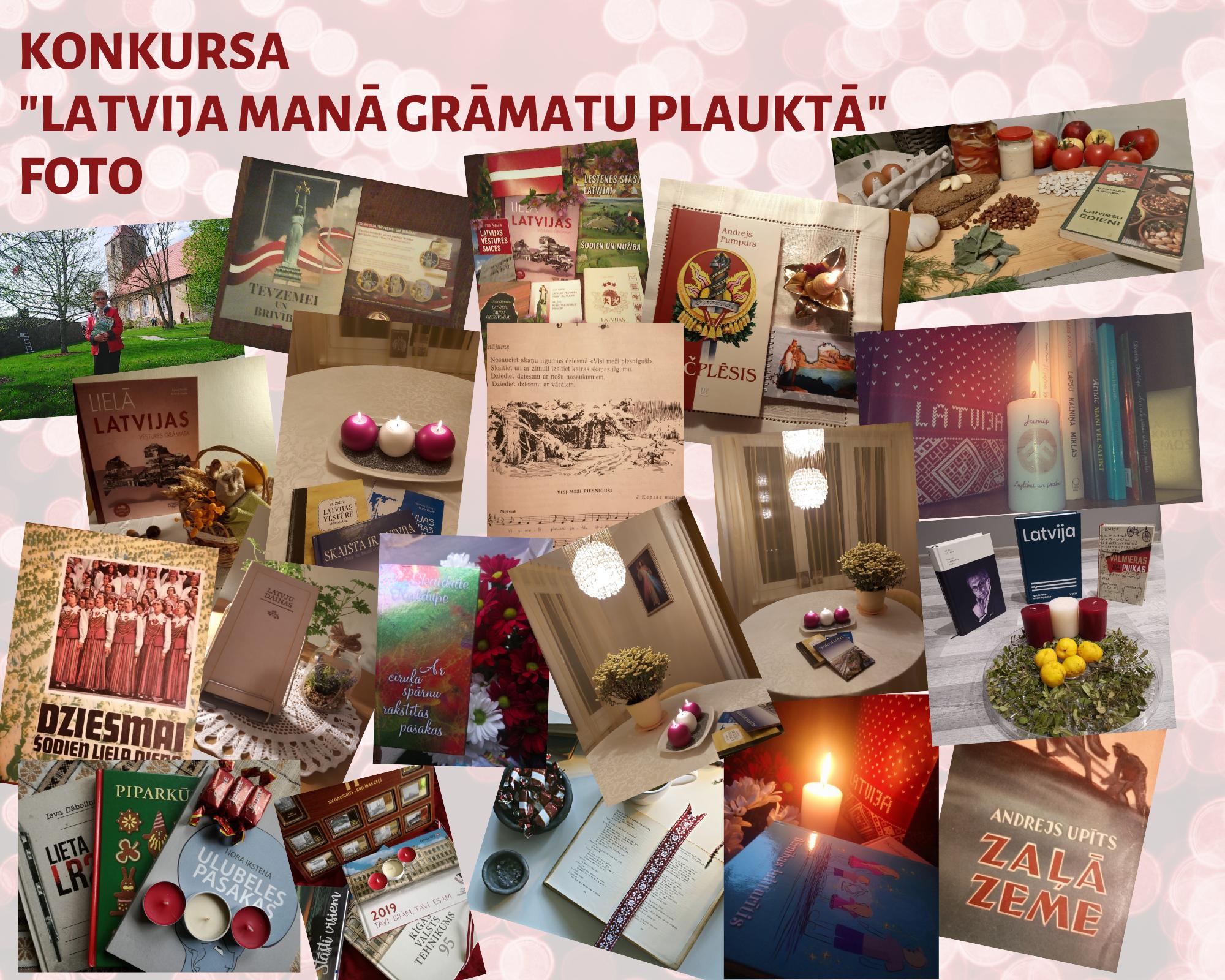 """Konkursa """"Latvija Manā Grāmatu Plauktā"""" Balsošana Ir Sākusies!"""