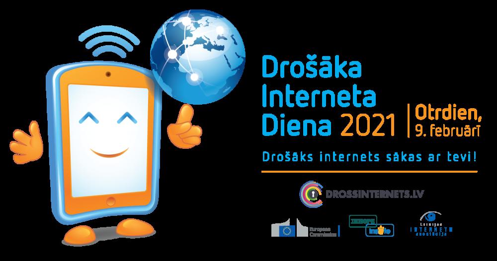 9.februāris – Drošāka Interneta Diena (DID2021)